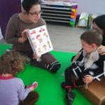 Activité lecture dans la journée